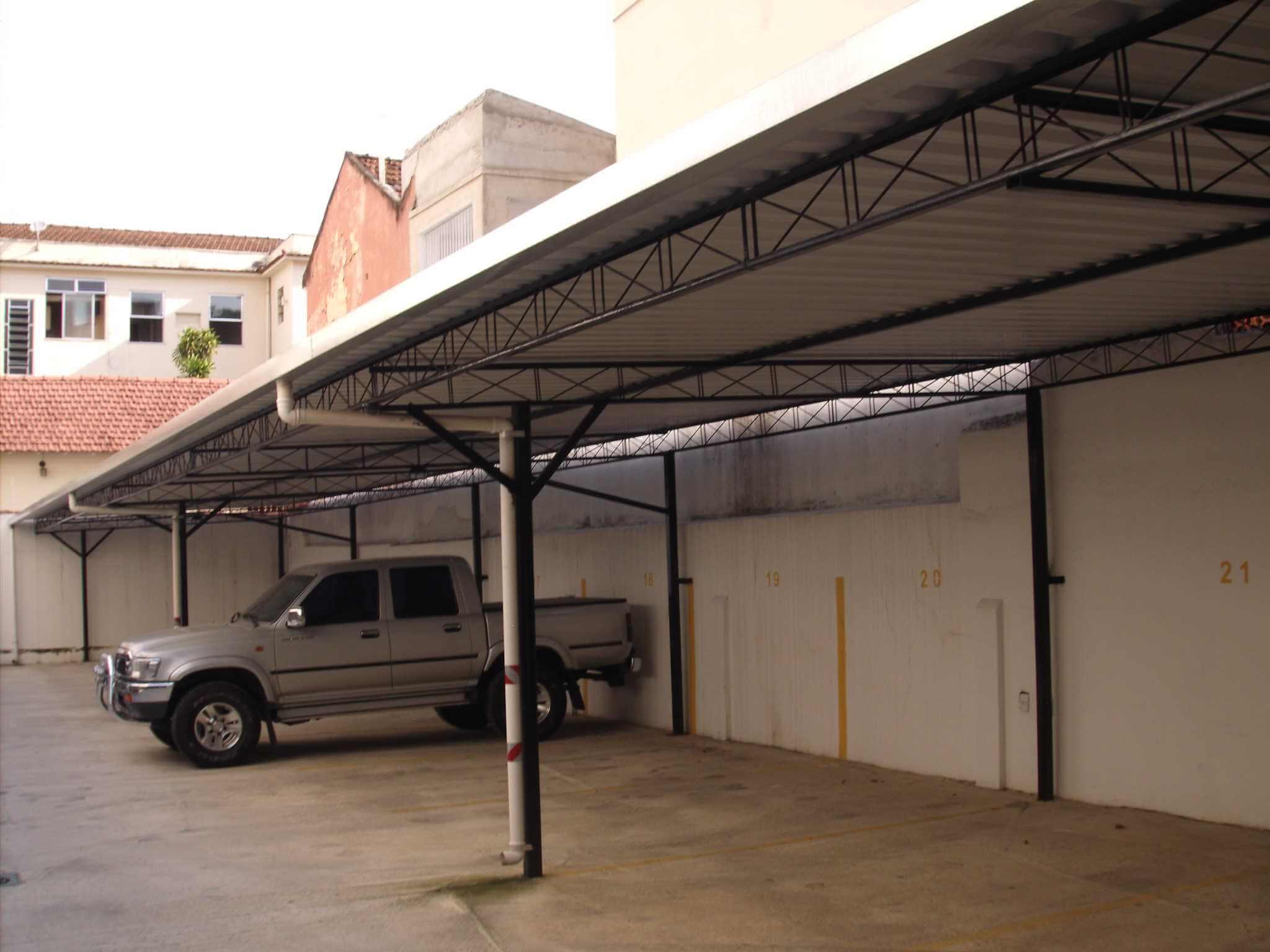 Coberturas Metálicas para Estacionamento RJ